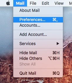 Step 1 - open Mail preferences.jpg