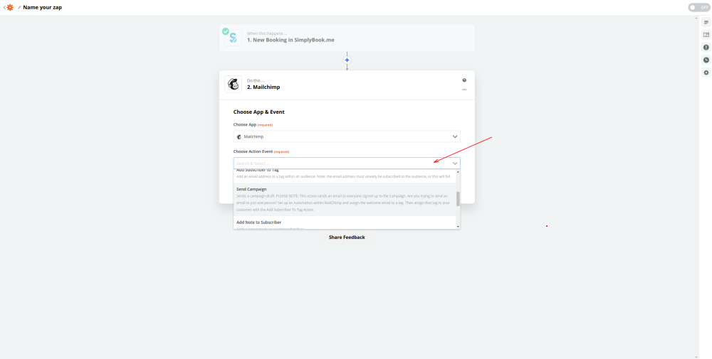 Select action on mailchimp side.png