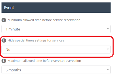 Hide special time settings for services.png