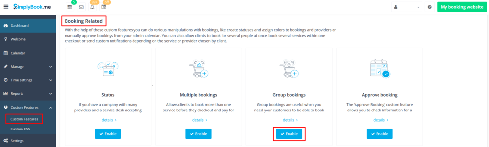 Group bookings enable path.png