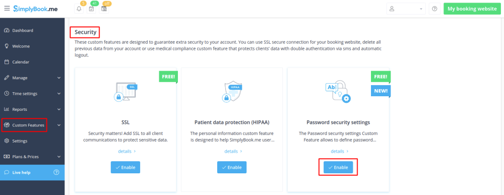 Password security settings enable path free.png